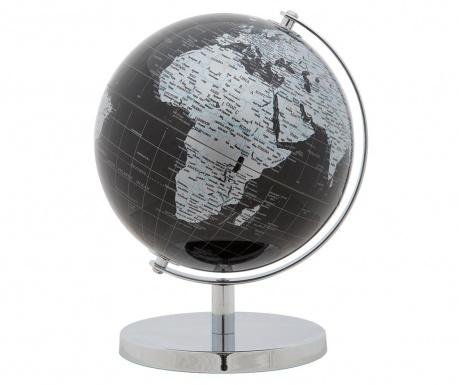 Globe Black Silver Dísztárgy
