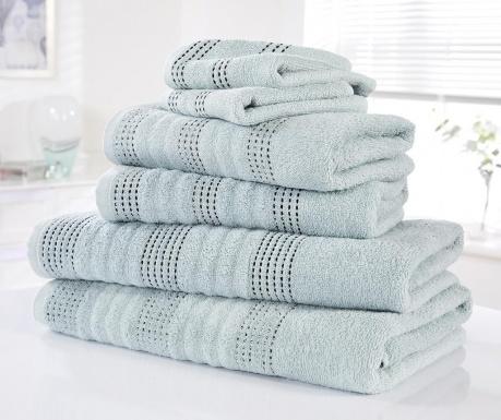 Комплект 6 кърпи за баня Spa Duck Egg