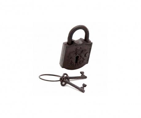 Комплект декоративни катинар с 2 ключа Xander