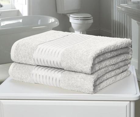 Windsor White 2 db Fürdőszobai törölköző 90x140 cm