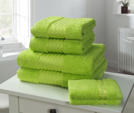 Set 6 prosoape de baie Windsor Lime