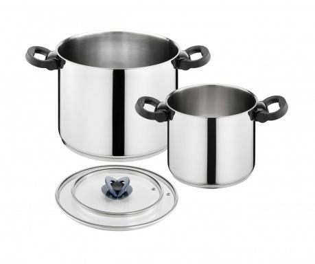 4-dijelni set posuda za kuhanje Tefal Modulo