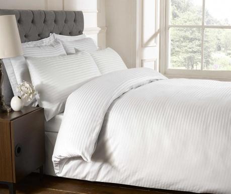 Cearsaf de pat cu elastic Brighton Hill Premium White