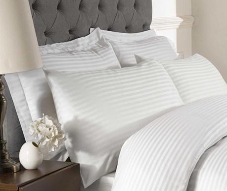 Sada 2 povlaků na polštáře Brighton Hill Premium White 50x75 cm