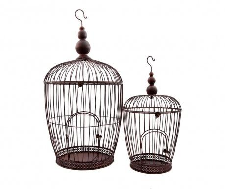 Комплект 2 декоративни клетки Birdy
