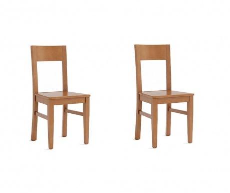 Set 2 scaune Fiona Cherry