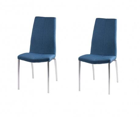 Комплект 2 стола Carla Dark Blue