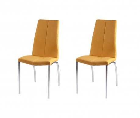 Комплект 2 стола Carla Yellow