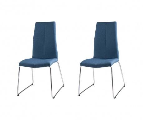 Комплект 2 стола Aroa Dark Blue