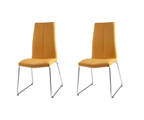 Set 2 scaune Aroa Yellow