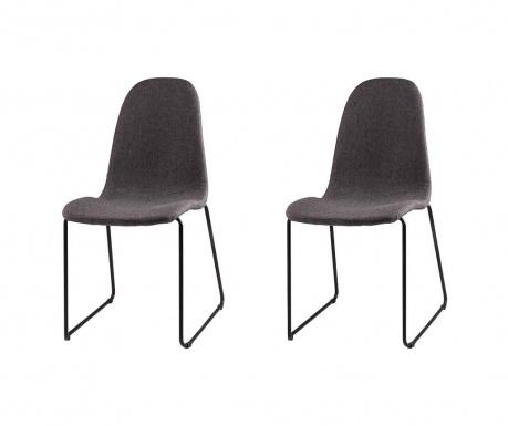 Комплект 2 стола Helena Dark Grey
