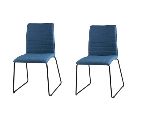 Set 2 scaune Vera Dark Blue