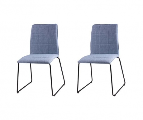 Комплект 2 стола Malina Light Blue