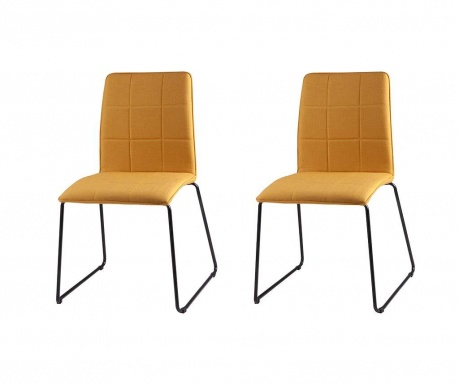 Комплект 2 стола Malina Yellow