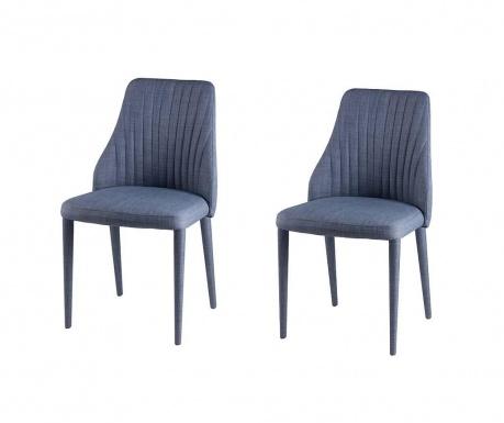 Set 2 scaune Dora Light Blue
