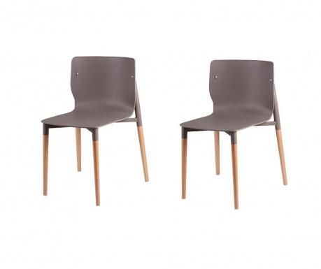 Комплект 2 стола Alisia Light Grey