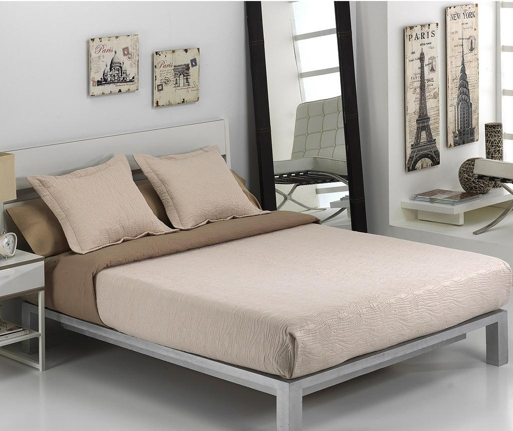 Set - posteljno pregrinjalo Single Alma Beige