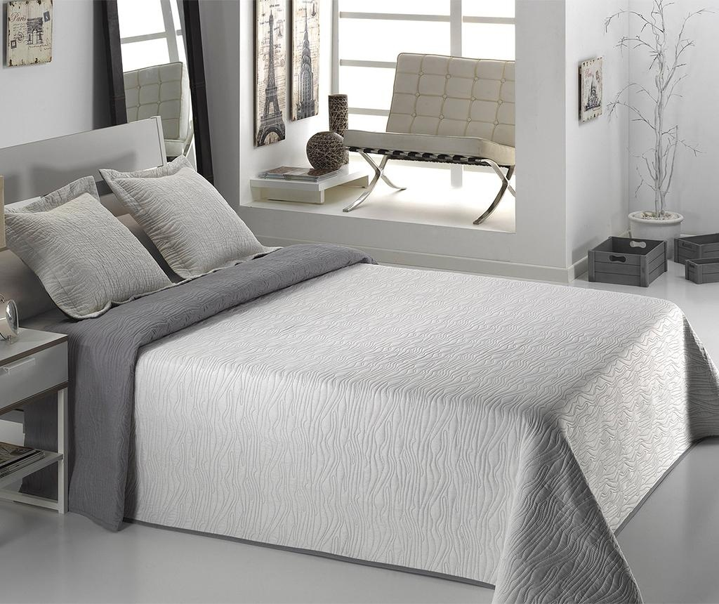 Set - posteljno pregrinjalo Single Alma Grey