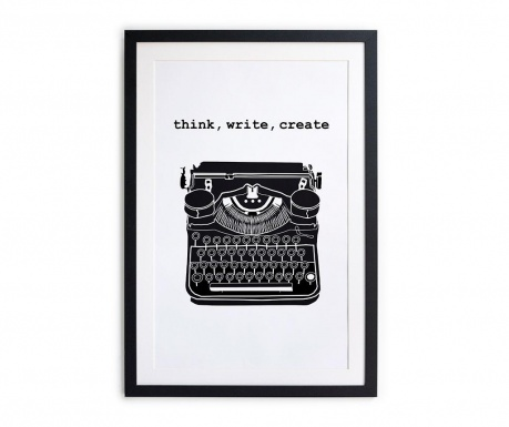 Slika Think Write Create 40x60 cm