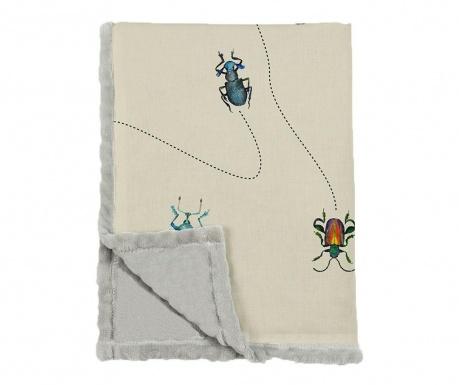 Pokrivač Bugs Way 124x166 cm