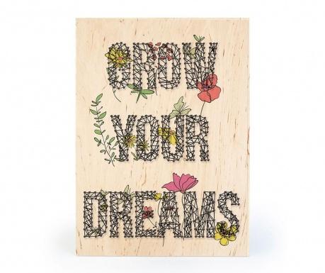 Kreativni set   4 dijela DIY Grow Your Dreams