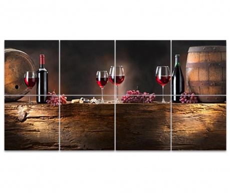 Wine Barrel 8 db Kép 30x30 cm