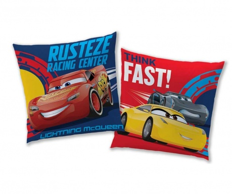 Perna decorativa Disney Cars 40x40 cm