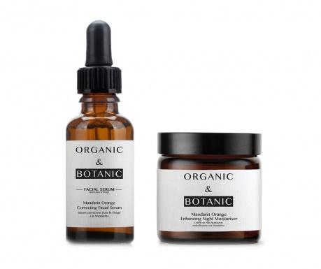Set serum korektor i hidratantna noćna krema Mandarin Orange
