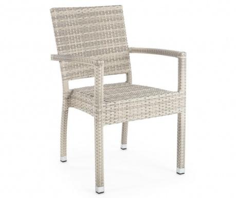 Venkovní židle Aston Moon Armrest