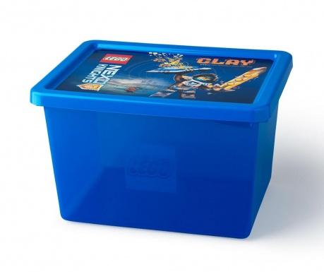 Cutie cu capac pentru depozitare Lego Nexo 18 L