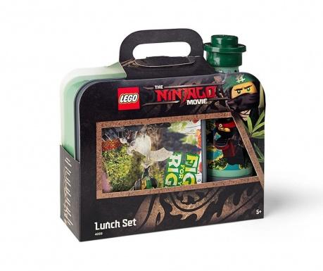 Set kutija za užinu i sportska boca Lego Ninjago Movie