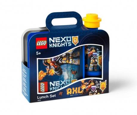 Set kutija za užinu i sportska boca Lego Nexo