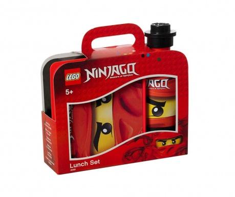 Set kutija za užinu i sportska boca Lego Ninjago