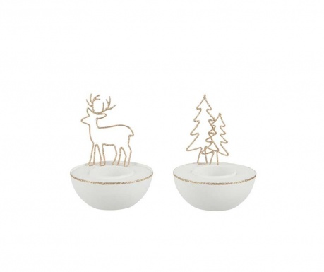 Комплект 2 свещника Moose and Tree