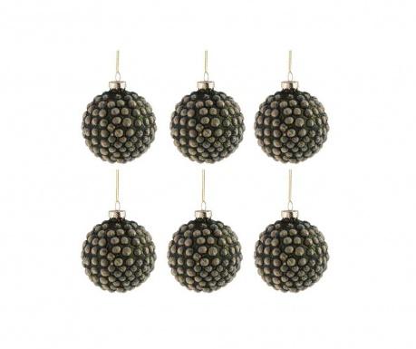 Комплект 6 декоративни топки Nature Cone