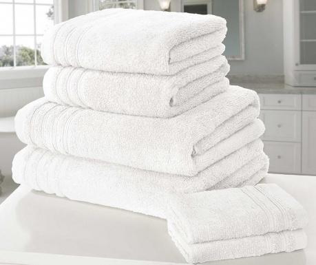 So Soft White 6 db Fürdőszobai törölköző