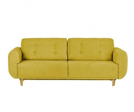Rozkładana kanapa trzyosobowa Copenhague Moustard