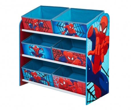 Шкафче с 6 коша Spiderman