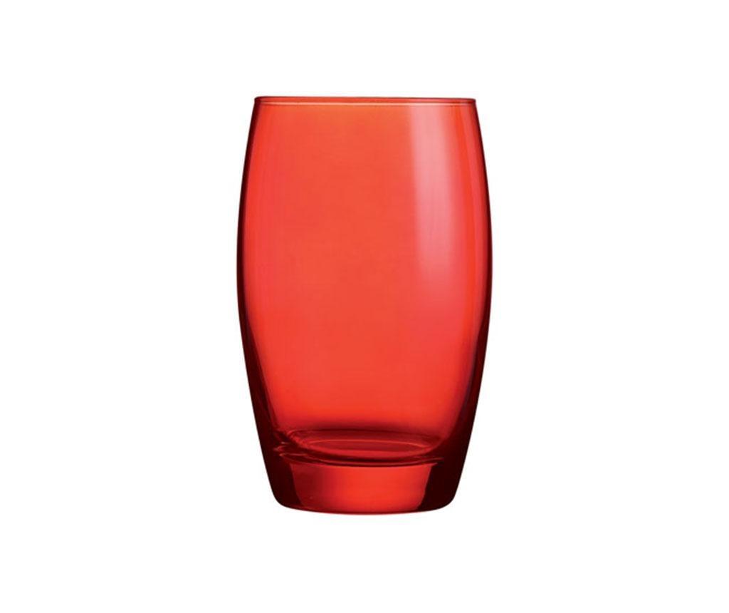 Čaša Color Studio Red Tall 350 ml