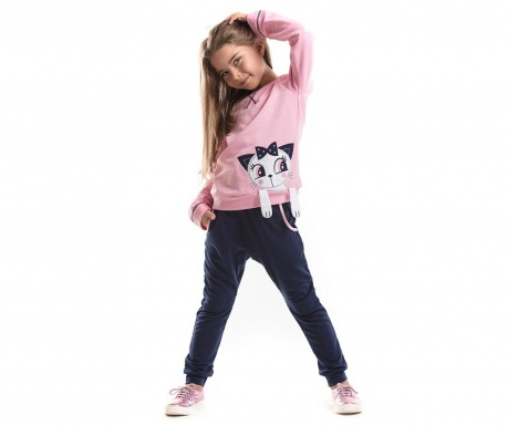 Set bluza si pantaloni Cat Sue