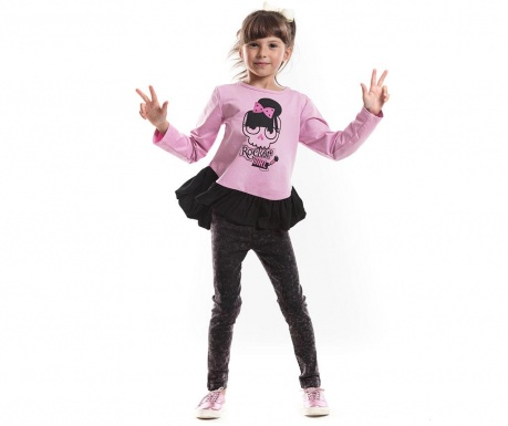 Set bluza si colanti Rocker Girl Jean