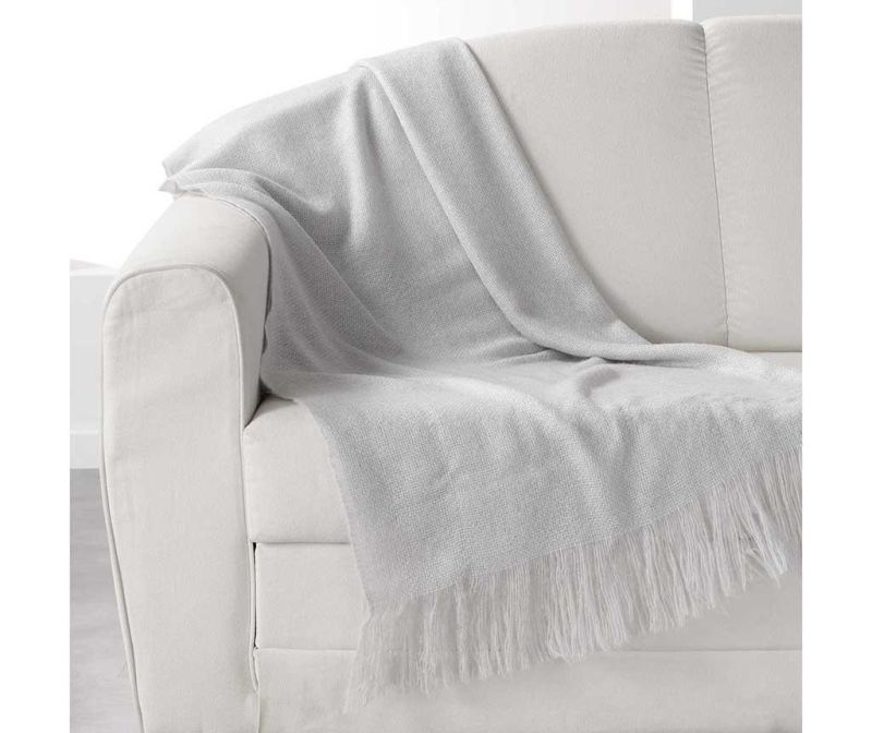 Pokrivač Shelly Grey 120x150 cm