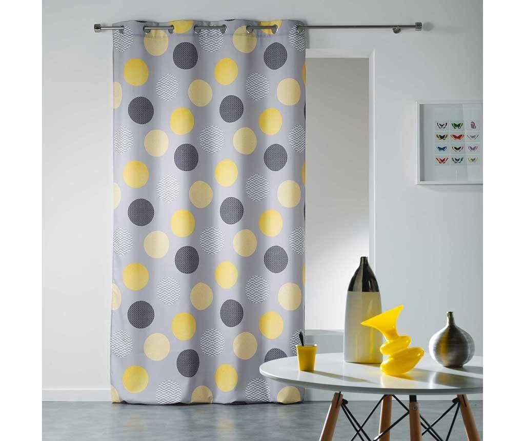 Zastor Odaly Yellow 140x260 cm