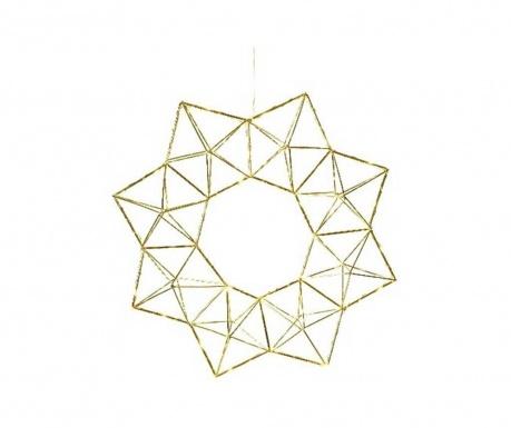 Viseča svetlobna dekoracija Edge Brass