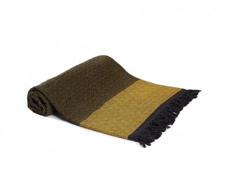 Koc Hadden Black Yellow 200x240 cm