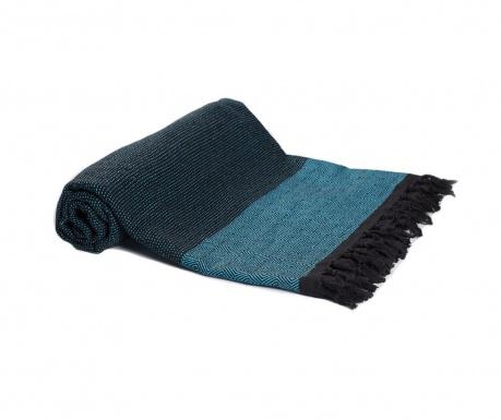 Koc Hadden Black Blue 200x240 cm