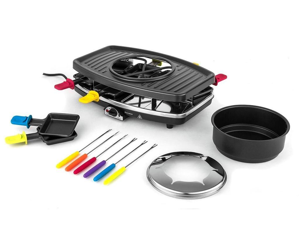 Set grill electric si ustensile pentru fondue Dark and Colorful