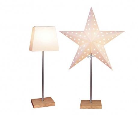 Комплект основа за лампа и 2 абажура Plain to Star