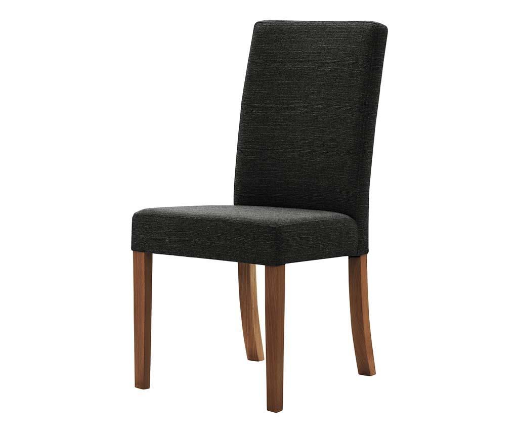 Set 4 scaune Tonka Brown Black