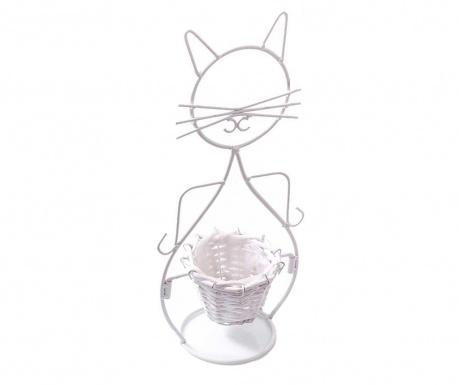 Kvetináč s podstavcom Kitty Paws
